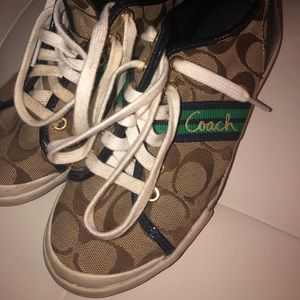 Coach Folly Brown Signature Sneakers